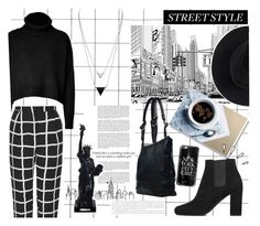 """New York Style"" by voguefashion101 ❤ liked on Polyvore featuring Topshop, Tara Jarmon, Merci Gustave!, Yves Saint Laurent, JAY. M, House of Harlow 1960, Old Navy, Casetify and Ryan Roche"