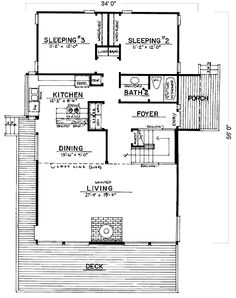 This picture relates to chapter two because it is a floor plan and helps the homeowner evaluate how the house will be put together & designed on the inside.
