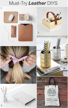 Must-Try Leather DIYS | The Crafted Life