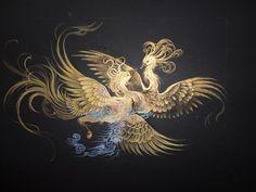 O Cristo e a Semana Santa - GnosisOnline Phoenix Painting, Phoenix Art, Chinese Painting, Chinese Art, Mythical Flying Creatures, Iranian Art, Thai Art, Dragon Art, Islamic Art