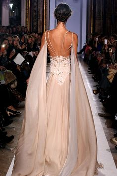 Back view Zuhair Murad - Couture - Official pictures, S/S 2013 - Flip-Zone