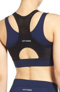 Double Layer Linear Mesh Bra IVY PARK