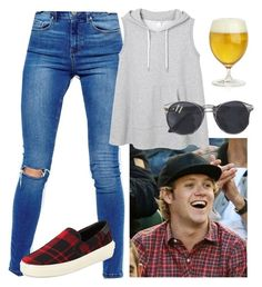 """""""Niall"""" by girlfriendof1d ❤ liked on Polyvore featuring ASOS, Monki, Crate and Barrel and Yves Saint Laurent"""