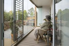 Image 5 of 33 from gallery of To Design for the Elderly, Don't Look to the Past. Image © Tim Crocker, via Matthew Usher Garden Architecture, Architecture Design, Christian Charities, University Of Sheffield, Sheltered Housing, Rest House, Garden Design, House Design, Social Housing