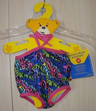 Build A Bear SWIMMING COSTUME ANIMAL PRINT New With Tags
