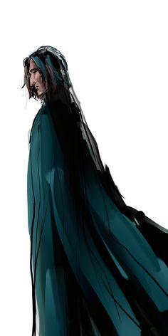 """Snape"" by Emmanation via deviantart"