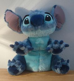 "Plush 12"" Lilo & Stitch Authentic Disney Parks Original SOFT Stuffed Animal Toy"