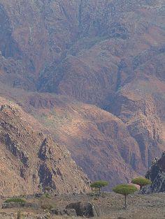 Mountains of Socotra Island, Yemen
