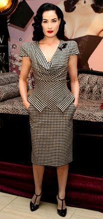 Dita Von Teese in Alexander McQueen, November 2009