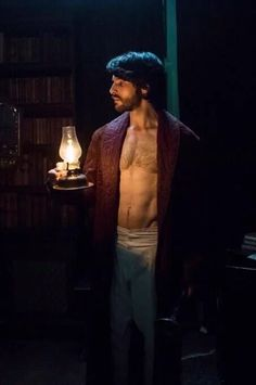 Colin Morgan in the living and the death