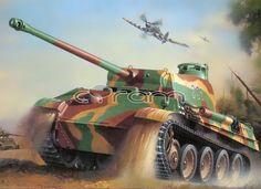 Panzerkampfwagen V ''Panther'' Ausf. G (Sd.Kfz. 171) Modellbausatz von Revell   http://www.cyram-entertainment.de/shop/products/Modellbau/Militaer/Fahrzeuge/Panzerkampfwagen-V-Panther-Ausf-G-SdKfz-171.html