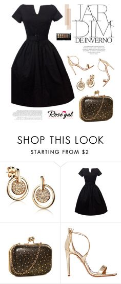 """""""Rosegal 11"""" by merima-kopic ❤ liked on Polyvore featuring Aquazzura, Boohoo, vintage and rosegal"""