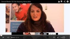 A Social Media 101 Training for #Housing #Advocates was done over Google + Hangout!