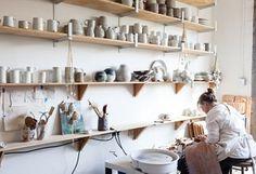 Mt Washington Pottery Studio Tour -- One Kings Lane