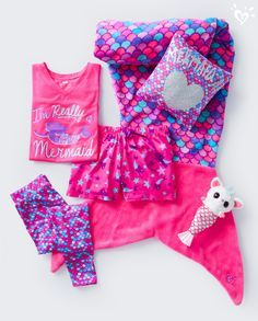 Every sleepover party needs a little mermaid swag! Every sleepover party needs a little mermaid swag!