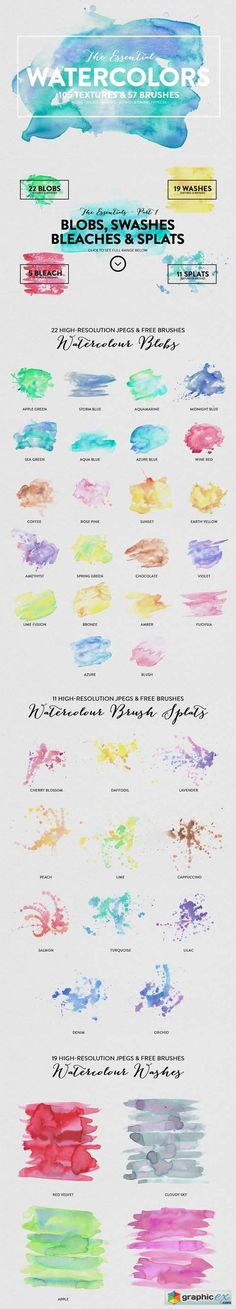 The Essential Watercolors