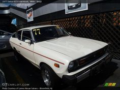 Front View of 1977 Hatchback Photo No. Datsun 210, Nissan Sunny, Large Photos, Exterior Colors, Automatic Transmission, Sunnies, Beige, Cars, Vehicle