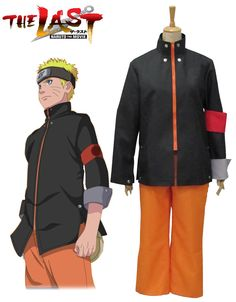 Naruto movie The last-Uzumaki Naruto Cosplay Costume