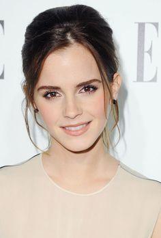 Le chignon banane méché d'Emma Watson