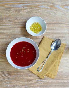 Soupe de betterave au citron confit - Elle.fr 600 G DE BETTERAVES - 1 OIGNON 1 GOUSSE D'AIL - 20 G DE GINGEMBRE FRAIS 1/2 CITRON CONFIT