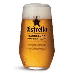 Estrella Damm ölglas 33 cl - Spanien - Ölglas - Barshopen.com Malta, Corona Beer, Beer Bottle, Drinks, Wallpapers, Products, Ale, Stars, Sevilla Spain