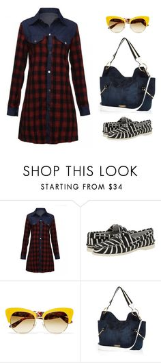 """""""Pattern master"""" by brooklynbeatz ❤ liked on Polyvore featuring Band of Outsiders, Dolce&Gabbana and River Island"""