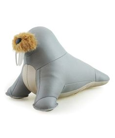Another great find on #zulily! Gray Walrus Bookend #zulilyfinds