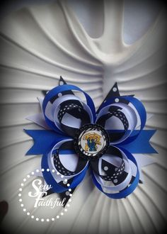 University of Kentucky Wildcats Hair Bow