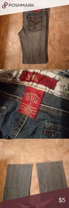 Jeans Nice ymi jeans. Recently bought on here but they didn't fit. YMI Jeans Flare & Wide Leg