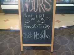 What kind of soup????