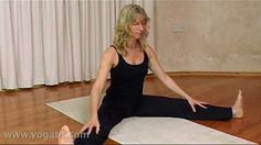 In this video, Esther shows us a bedtime yoga exercise to unwind and sleep well.