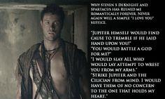 Spartacus ... Agron ... that's Nasirs and Agrons way to tell each other that they are in love <3 <3 <3
