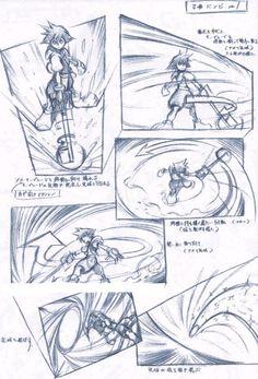 Kingdom Hearts - story board