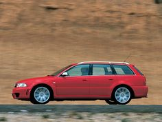 Audi RS 4 Avant (B5,8D) '05.2000–09.2001