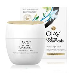 Olay Active Botanicals Intensive Night Cream delivers hydration to lock in your skin's moisture for 24 hours for vibrant, younger-looking skin. Shop Now!