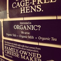 Looking for organic? Try our organic tofu, milk or tea. #organic #noodlesandcompany