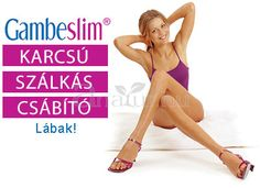 Gambe Slim® gyógynövény koncentrátum, kollagénnel. Az egészséges, karcsú, és csábító lábakért.