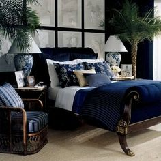 CLICK TO SEE: Beautiful Ralph Lauren interiors #designer #Fourposter