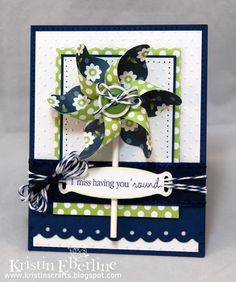 Navy, white & Lime great together..