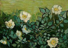 Vincent van Gogh Wild Roses Saint-Rémy-de-Provence, May-June 1889
