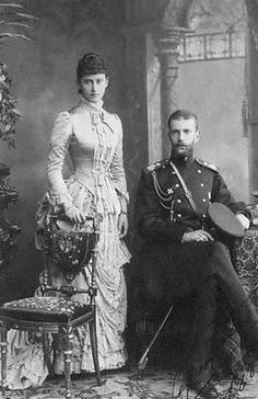 Grand Duke Sergei Alexandrovich Romanov of Russia and his wife,the Grand Duchess Elisabeth Feodorovna Romanova of Russia. Beautiful Love Stories, Beautiful Wife, Reine Victoria, Grand Duc, Queen Victoria Prince Albert, House Of Romanov, Tsar Nicholas Ii, Imperial Russia, Vintage Photographs