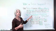 What is Portfolio Management vs. Portfolio Management, Project Management, Career, Business, Projects, Log Projects, Carrera, Blue Prints, Store