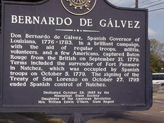 Galvez's Contribution to The American Revolutionary War included soldiers from Latin-America, the Caribbean, free slaves, Creoles and Native Americans.