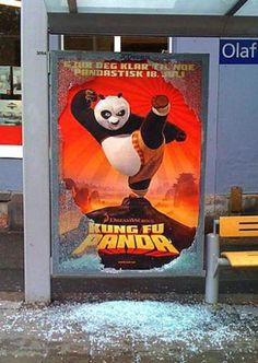 Panda doesn't know its own strength!