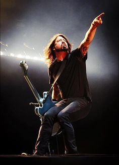 Dave Grohl. Always the entertainer always true to his vision.