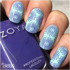 Spirograph with Zoya and China Glaze