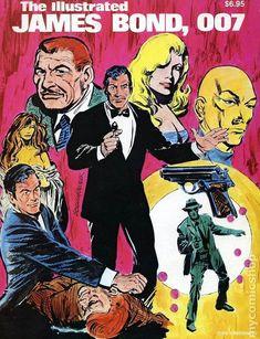 James Bond Comic Art | Illustrated James Bond, 007 TPB (1981) comic books