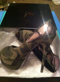 Camo heels awesome