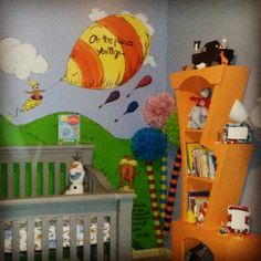 Dr Seuss Wall Mural...cute For A Boy Nursery Part 88