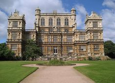 Where playboy billionaire Bruce Waynes spends his free time.when he's not fighting crime in the Batcave. The real house is called Wollaton Hall and it was used in Christopher Nolan's final Batman installment, The Dark Knight Rises. Wayne Manor, Matrix Film, Dream Mansion, Foreign Movies, The Dark Knight Rises, Christian Bale, French Films, Northern Italy, Documentary Film